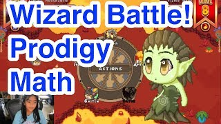 WIZARD BATTLE! Prodigy Math Game is an Educational RPG
