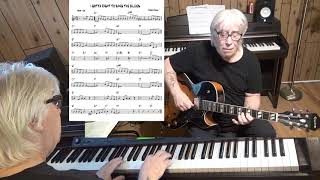I Gotta Right To Sing The Blues - Jazz guitar & piano cover ( Harold Arlen )