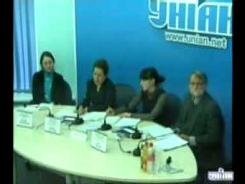 Human Rights Watch press-conference in Kyiv