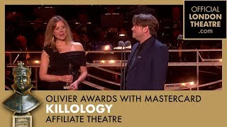 OUTSTANDING ACHIEVEMENT IN AFFILIATE THEATRE - Gary Owen for Killology - Olivier Awards 2018