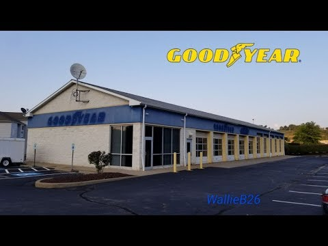 Abandoned Goodyear Auto Service Center Robinson Township, Pa