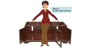 TV Console Assembly Instructions