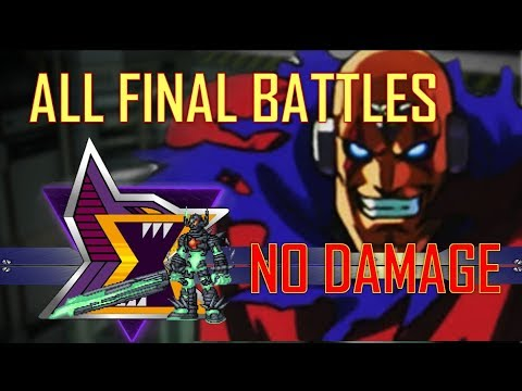 MegaMan (X~X8) - Σ All Sigma - Final Battles / No Damage