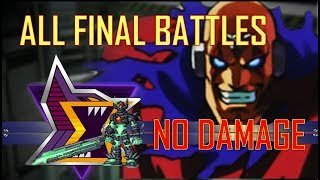 MegaMan (X~X8) - Σ All Sigma - Final Battles / No Damage