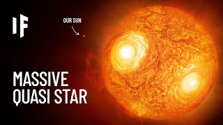 What If a Quasi-Star Entered Our Solar System?