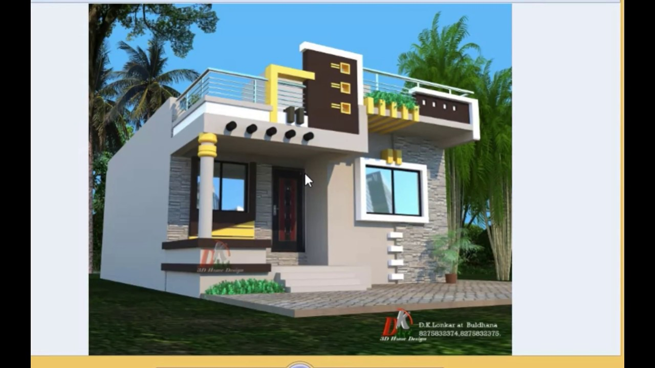 maxresdefault - 44+ Front Design Of Small House Ground Floor  Gif