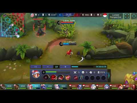 [Mobile Legend] Ruby vs Fanny and Natalia Troll