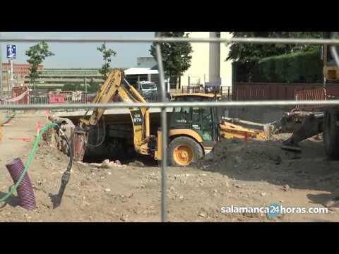 Avances en las obras del túnel bajo el Paseo San Vicente