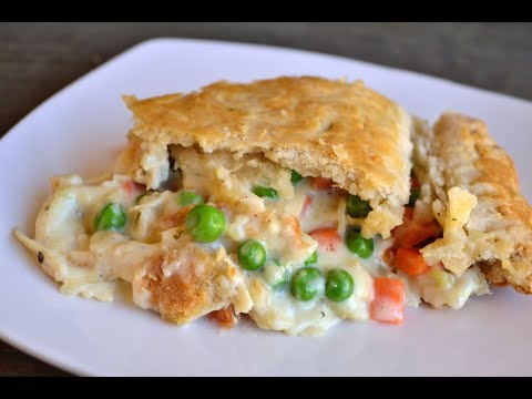 How to make filling for chicken pot pie
