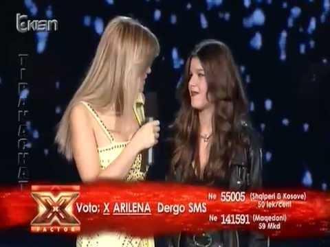 Arilena - Man Down (X Factor Albania 2 - Live Show)