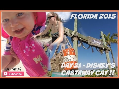 Florida 2015 - Day 21 (1/2) - IN PARADISE AT CASTAWAY CAY ! (13 MAY) GOPRO