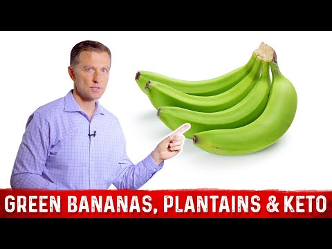 Green Bananas, Plantains & Keto
