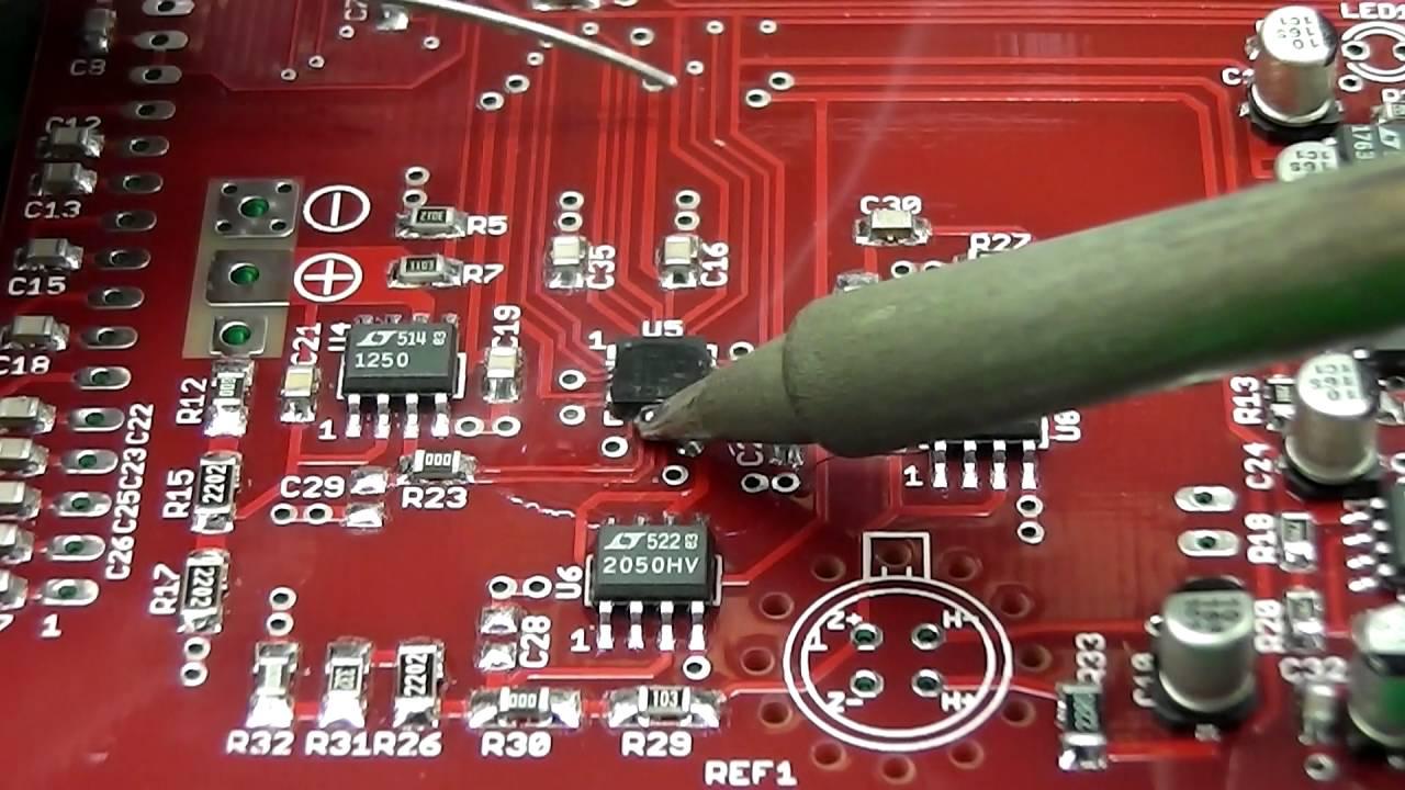 Video Blog #025 - QFN Reflow Repair