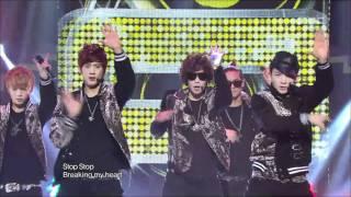 TEEN TOP - Crazy, 틴탑 - 미치겠어, Music Core 20120121