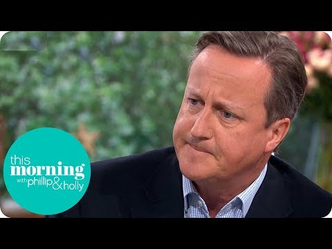 David Cameron on His Regrets Over the Referendum | This Morning