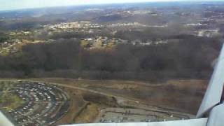 Landing in Pittsburgh Pennsylvania