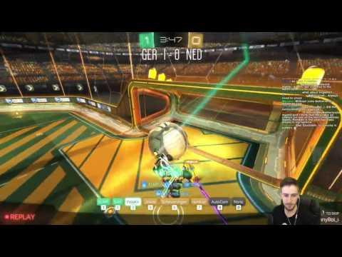 Germany vs Netherlands | Rocket League| International 3v3 Showmatch