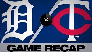 Rosario's hit, Pineda lead Twins to win - 4/13/19