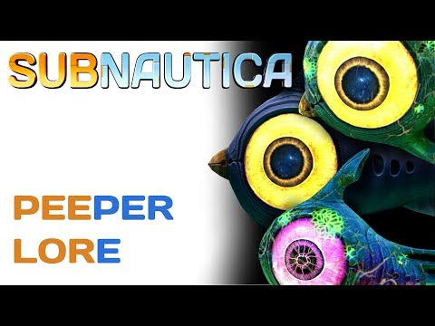 Subnautica Lore: Peepers | Video Game Lore