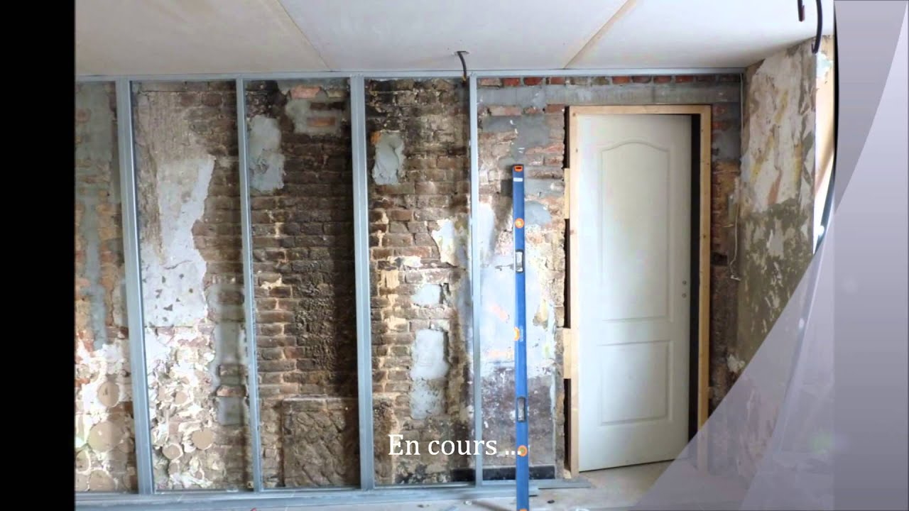 R novation avant apr s youtube for Renovation interieur maison ancienne