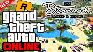 Rockstar Confirms Casino Resort Name & Release Date! Official Gameplay Trailer? (GTA 5 Online DLC)