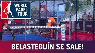 Las 7 salidas de pista de Belasteguín en un mismo partido | WPT