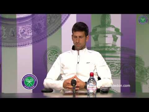 Novak Djokovic Interview 1/4F || Wimbledon 2017 || 12/07/2017