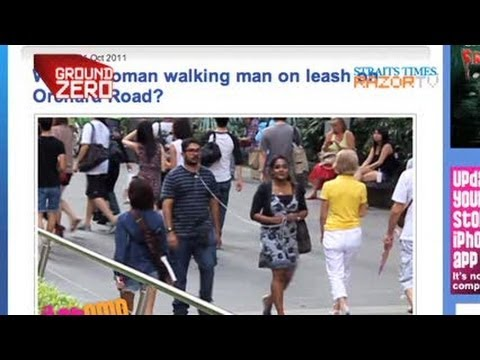 Woman walks man on a leash from YouTube · Duration:  2 minutes 8 seconds
