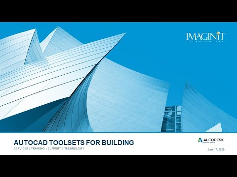 AutoCAD Toolsets for Building