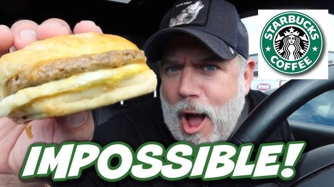 Starbucks Impossible Breakfast Sandwich Review Youtube