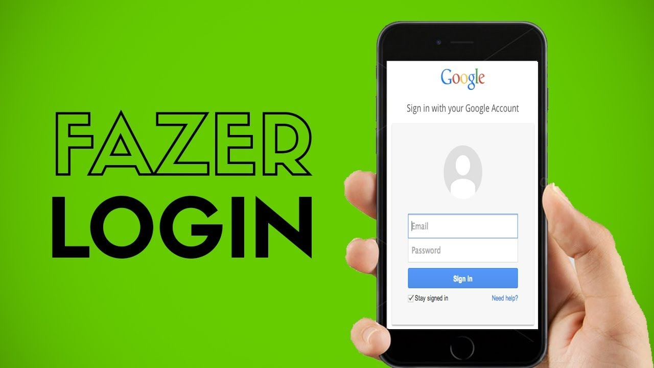 Como Fazer Login Na Conta Google Pelo Celular