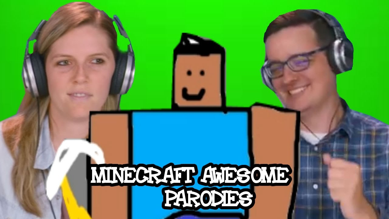 Minecraft awesome parodys face