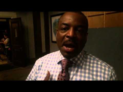 LeVar Burton's emotional reaction to the Reading Rainbow Kickstarter passing $1 million   .