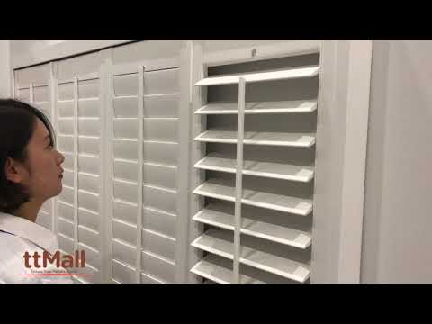 Visit ttMall Showroom Huge Range of Window Furnishing Plantation Shutters in Melbourne Australia