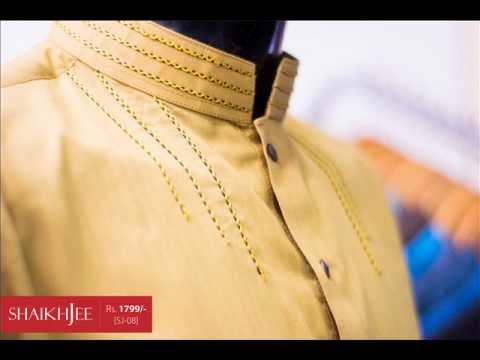 Simple Eid Kurta's Collection For Men 2012
