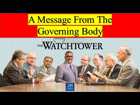 A Message From the Governing Body