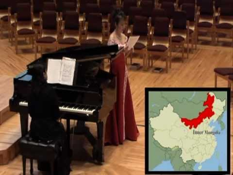 Chinese Songs, Past and Present (Traditional Art songs, Modern, Folk & Contemporary)