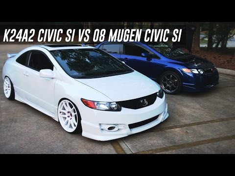 08 Mugen Civic SI vs K24a2 Swapped Civic SI