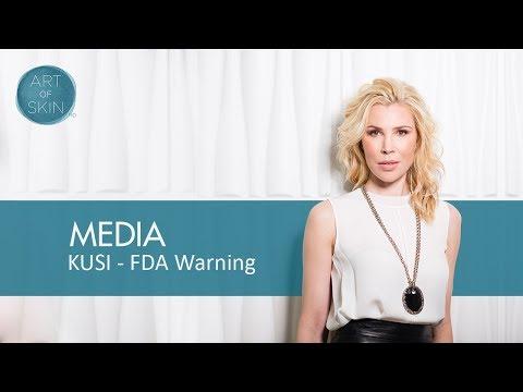 FDA warning on Juvederm 2, 3, 4 use in U.S. - counterfeit Juvederm