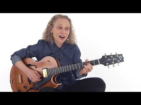 Jazz Trio Comping Guitar Lesson - Completely Blues Overview - Mimi Fox
