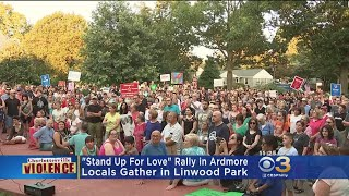 Anti-Hate Rallies Held Throughout Region In Response To Charlottesville