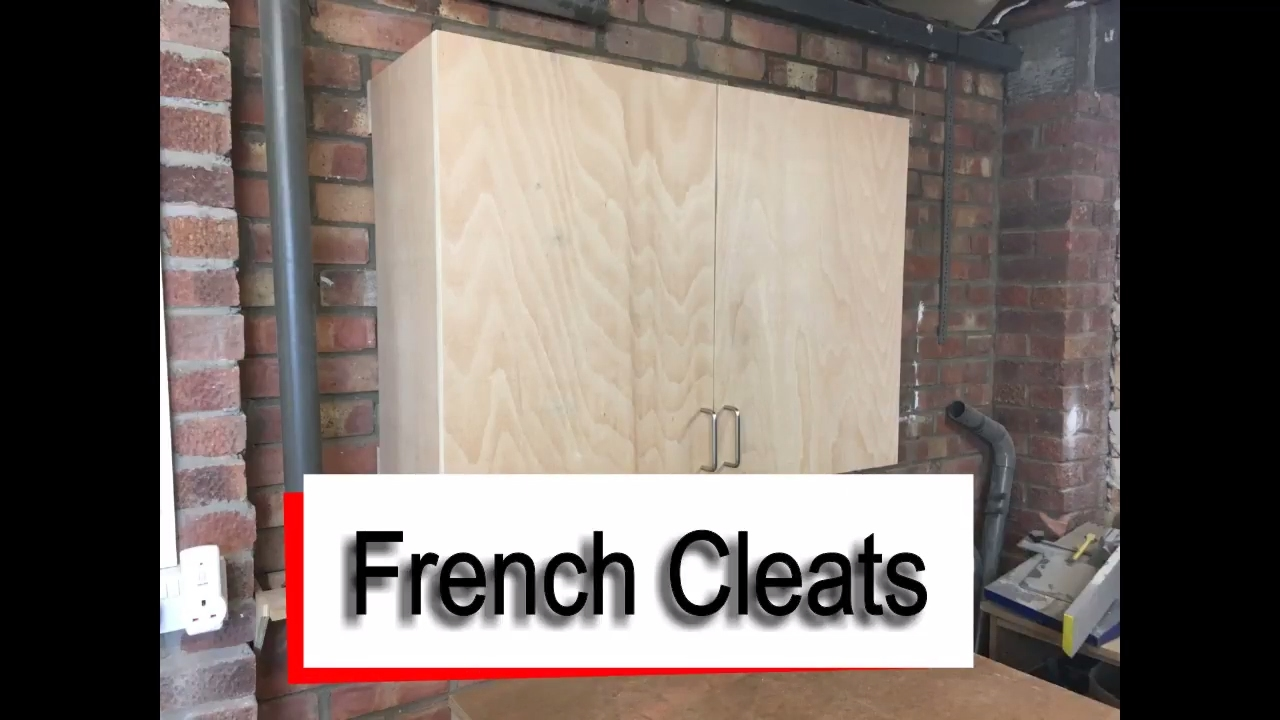 French Cleats How to hang Wall