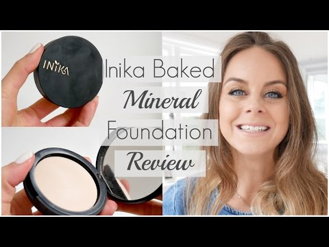 Inika Baked Mineral Foundation Review | Best Organic Makeup Brands in Australia