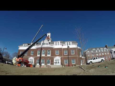St John Hall - Cupola installation