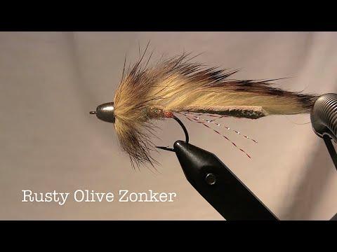 Rusty Olive Zonker - Beginner Fly Tying Instructions
