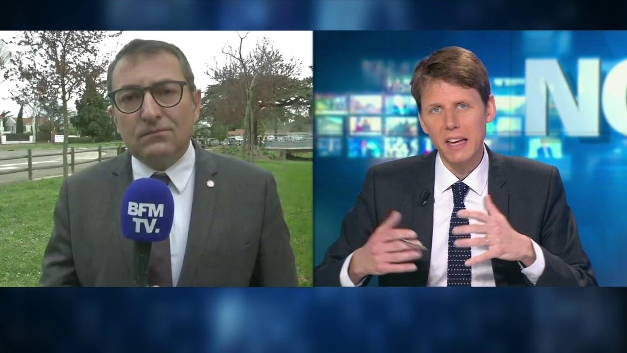 JF PORTARRIEU sur BFM TV 30/03/18 : les conséquences des grèves sur le tourisme