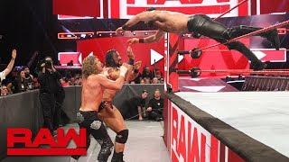 Seth Rollins & Finn Bálor vs. Dolph Ziggler & Drew McIntyre: Raw, July 23, 2018