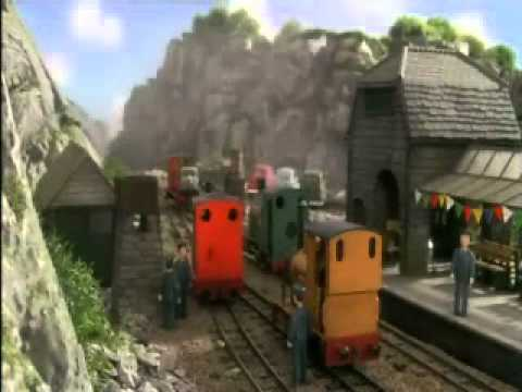 Ghost train: Terence's deleted scene - re-enactment from YouTube · Duration:  46 seconds