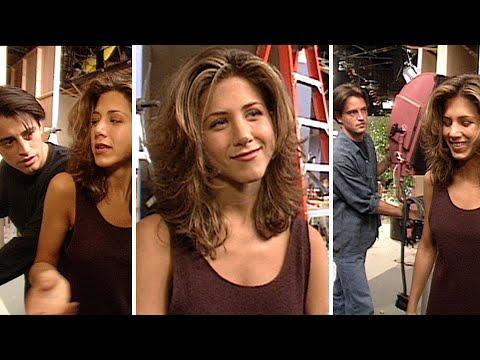 Watch Jennifer Aniston's 'Friends' Co-Stars Take Turns INTERRUPTING Her '94 Interview