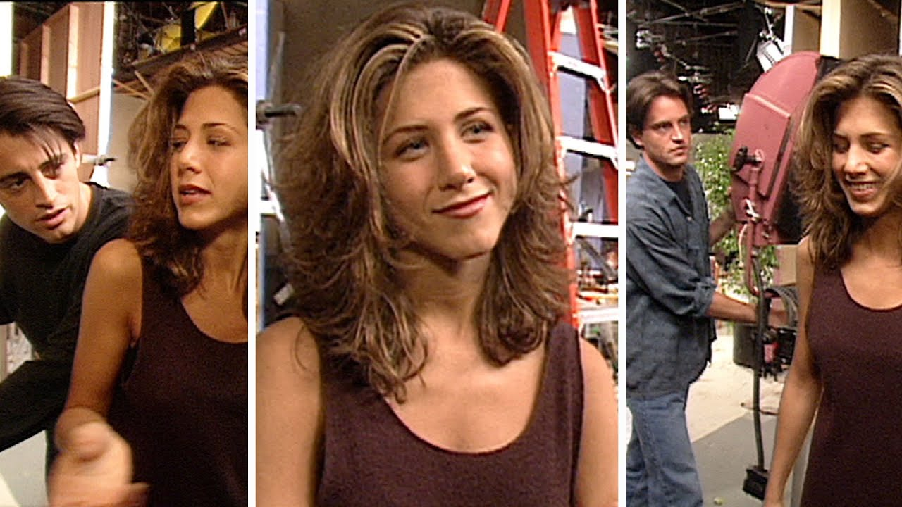 Watch Jennifer Aniston's 'Friends' Co-Stars Take Turns INTERRUPTING Her '94 Interview